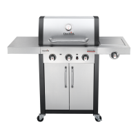 Газовий гриль 'Char-Broil Professional 3 Burner', 468810017